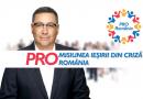 Victor Ponta a prezentat primele două măsuri vitale și urgente din planul de țară pentru ieșirea din criză